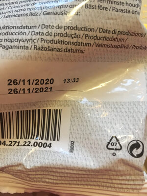 Kafferrep - Instruction de recyclage et/ou informations d'emballage - fr
