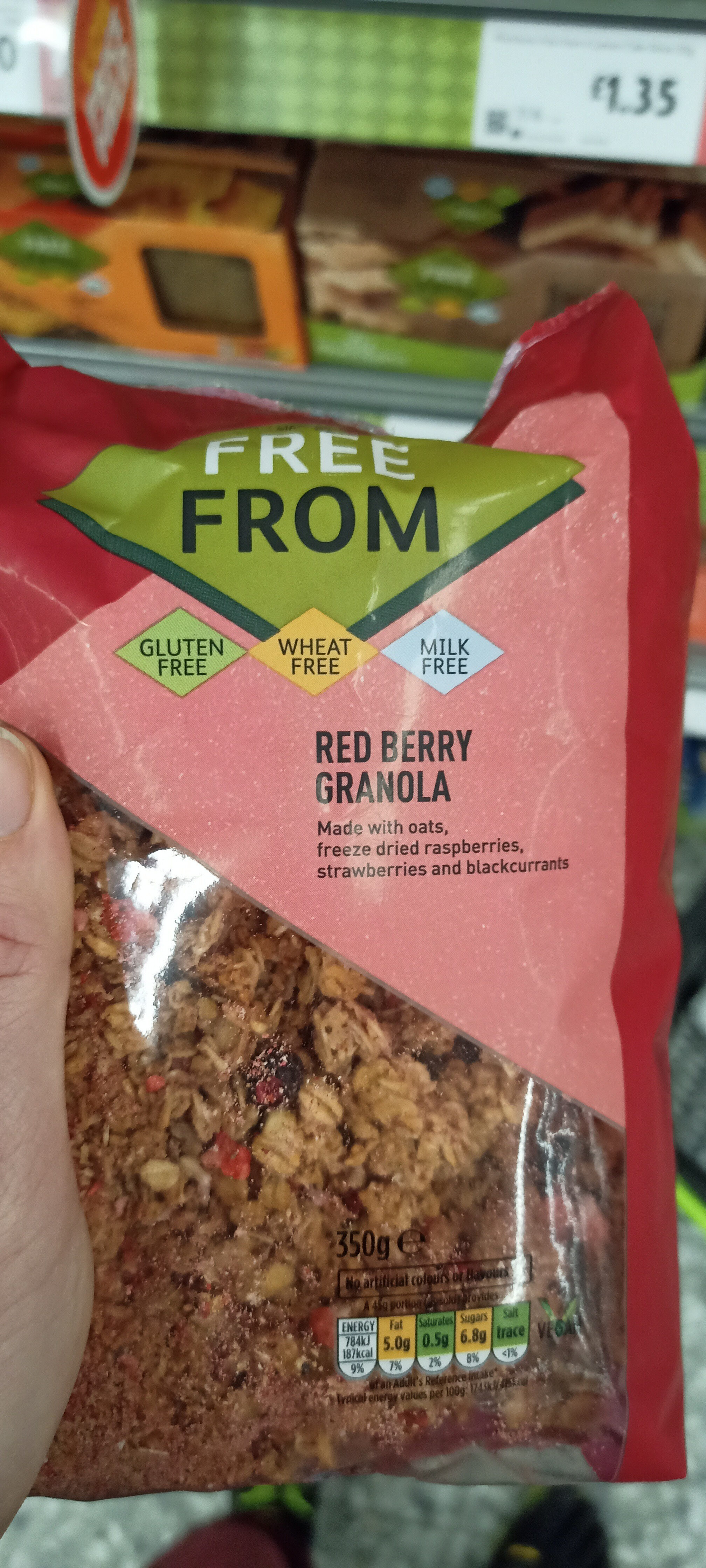 red berry granola - Product - en