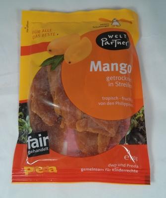Mango getrocknet in Streifen - Produkt
