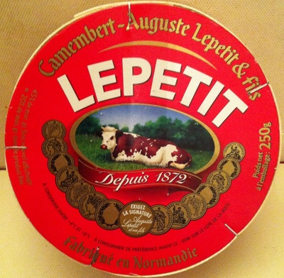 Camembert Auguste Lepetit & fils (20 % MG) - Product