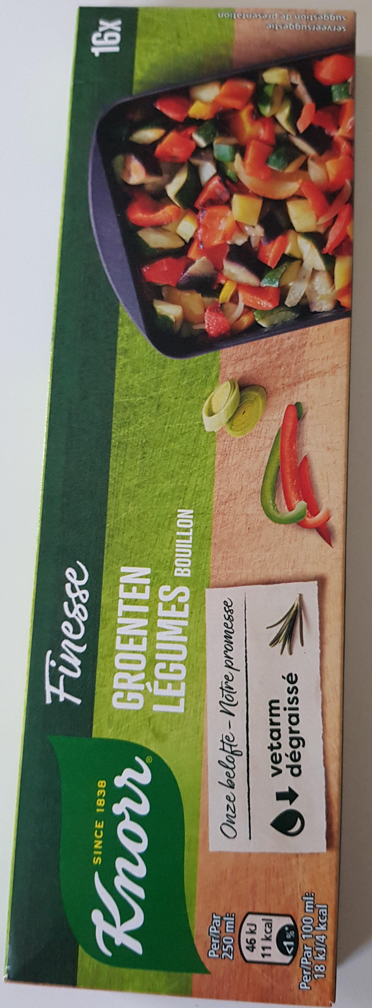Finesse légumes bouillon - Product - fr