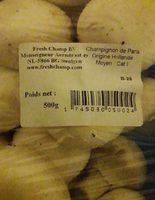 Champignon de paris - Ingrédients