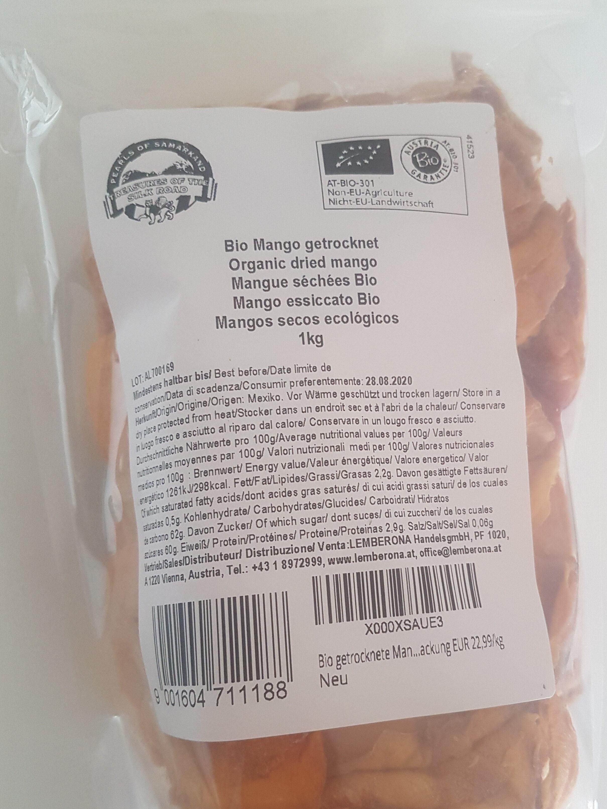 MANGUES SÉCHÉES BIO - Product