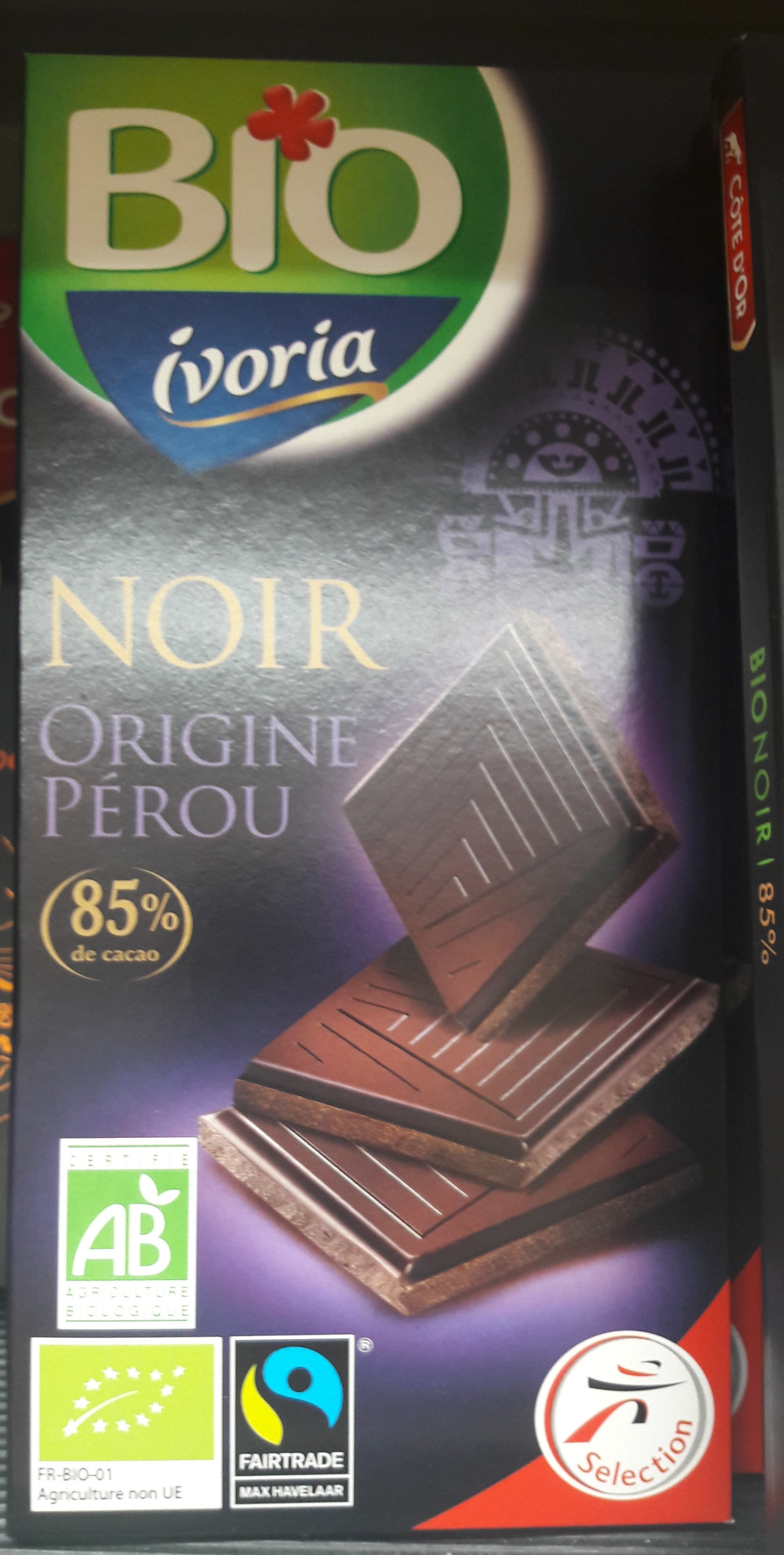 chocolat noir Pérou - Product