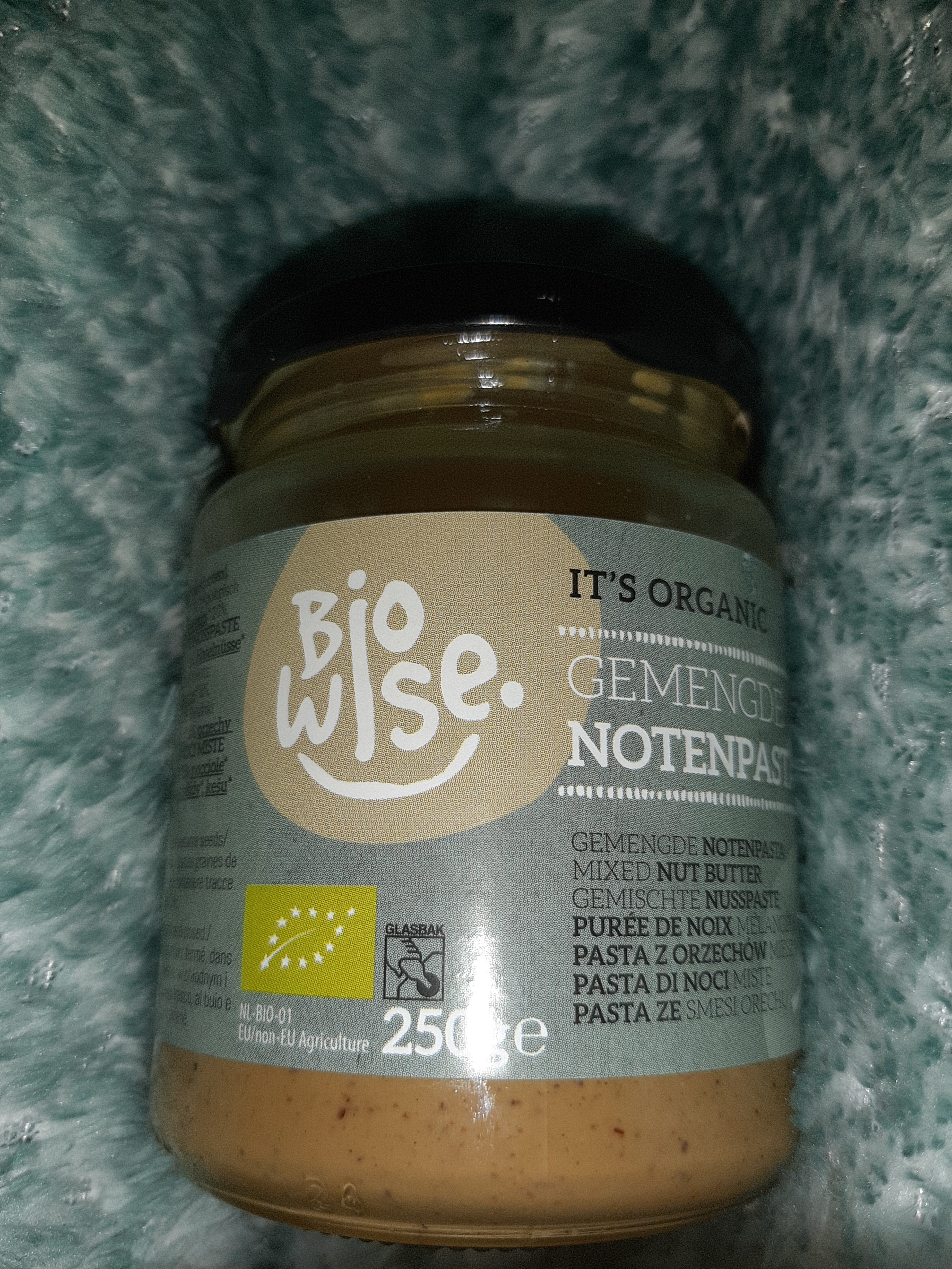 Bio Wise - Mixed Nut Butter - Product - nl