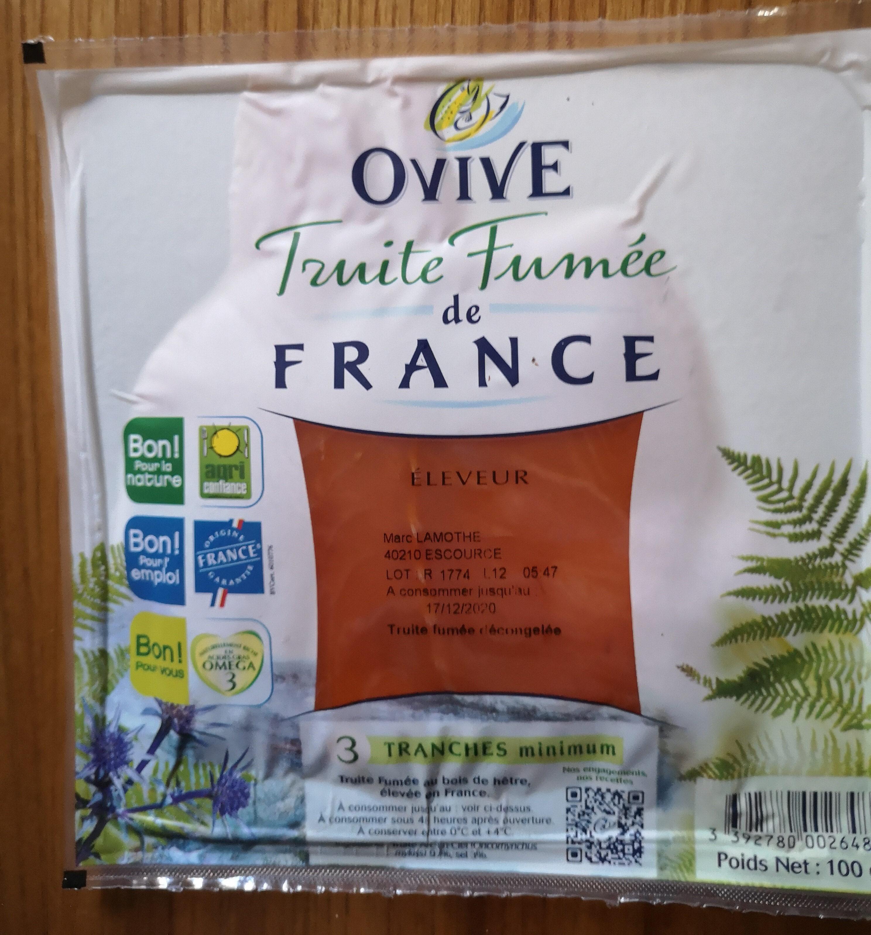truite fumée eau vive - Product - fr