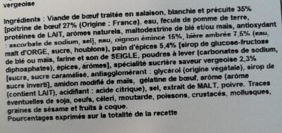 Carbonnade flamande - Ingredients