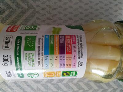 asperges blanches bio - Ingredienti - fr