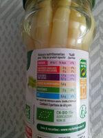 asperges blanches bio - Valori nutrizionali - fr