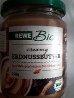 REWE Bio creamy Erdnussbutter - Product - de