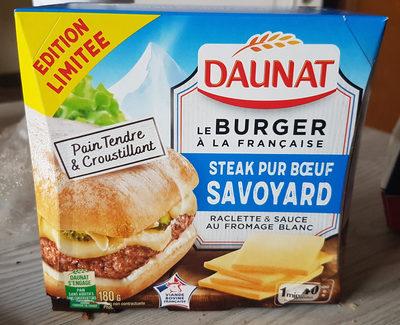 le burger à la française,steak pur boeuf  savoyard - Produit - fr