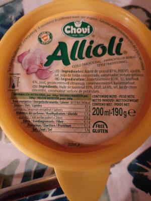 allioli - Product - nl