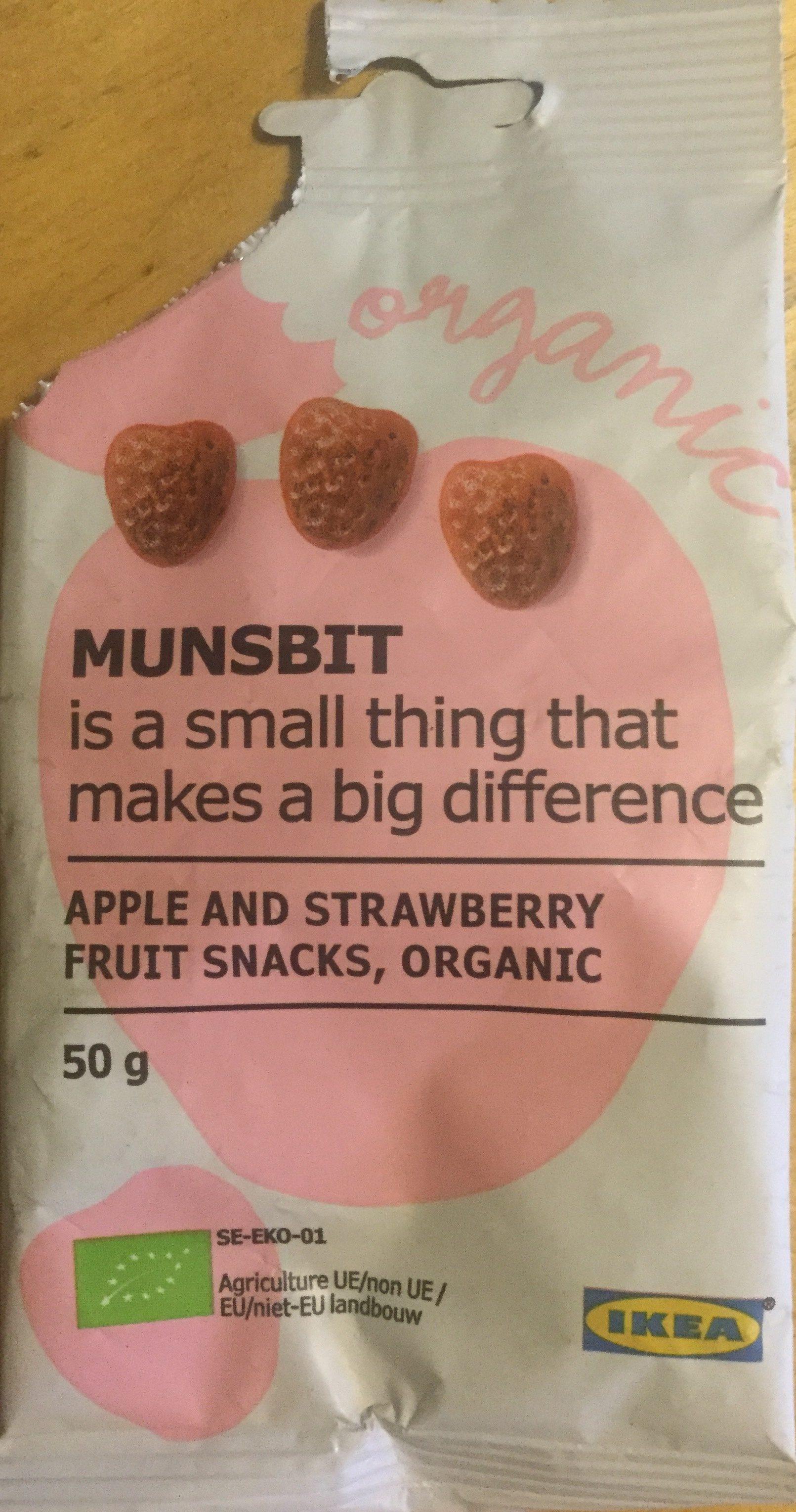 Munsbit apple and strawberry - Produit - en