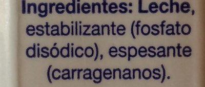 Leche evaporada Ideal - Ingredients