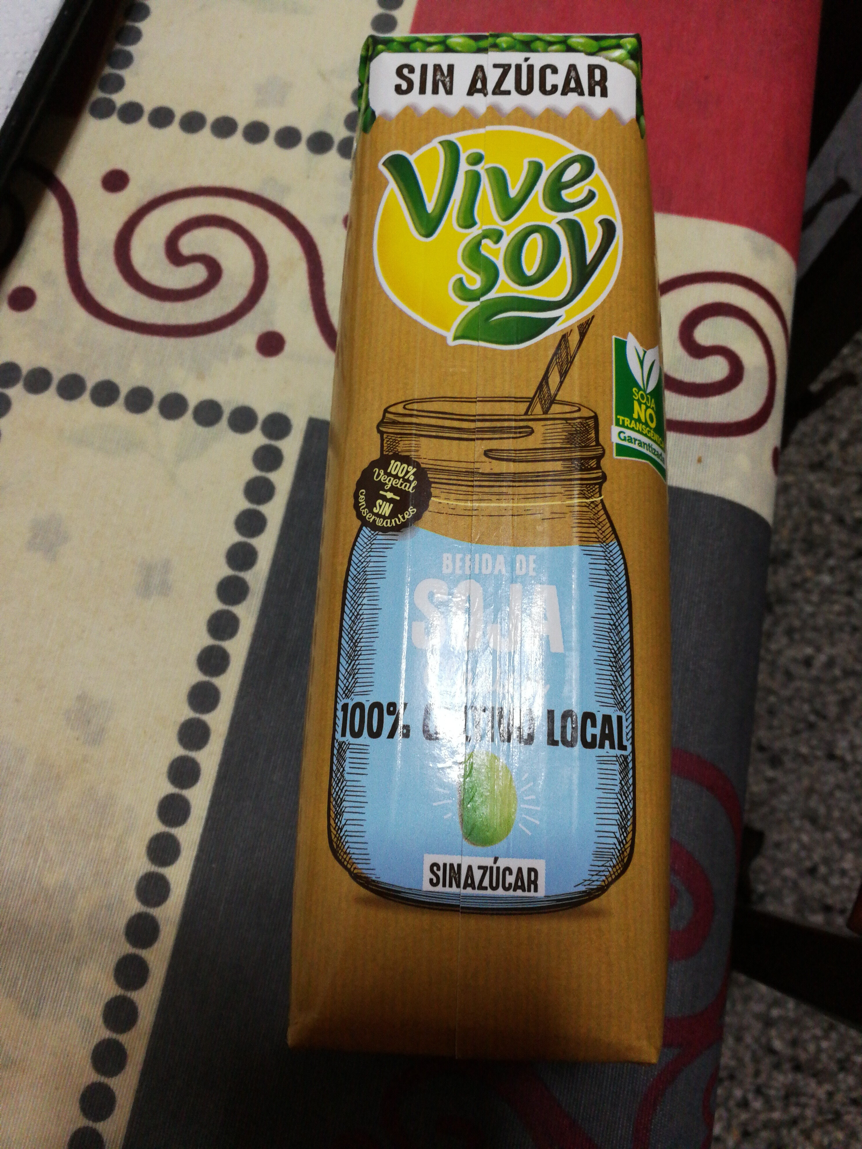 vivesoy soja sin azucar - Produit - es