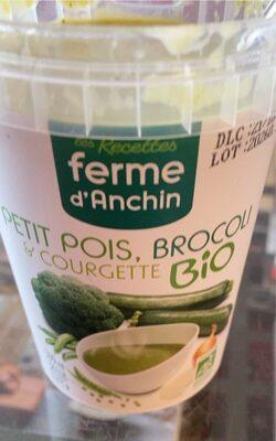 Petits pois, brocoli et courgette Bio - Product - fr