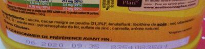 Nesquik - Ingredients