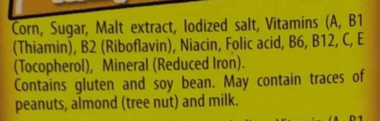 อาหารเช้าธัญพืช - Ingrediënten