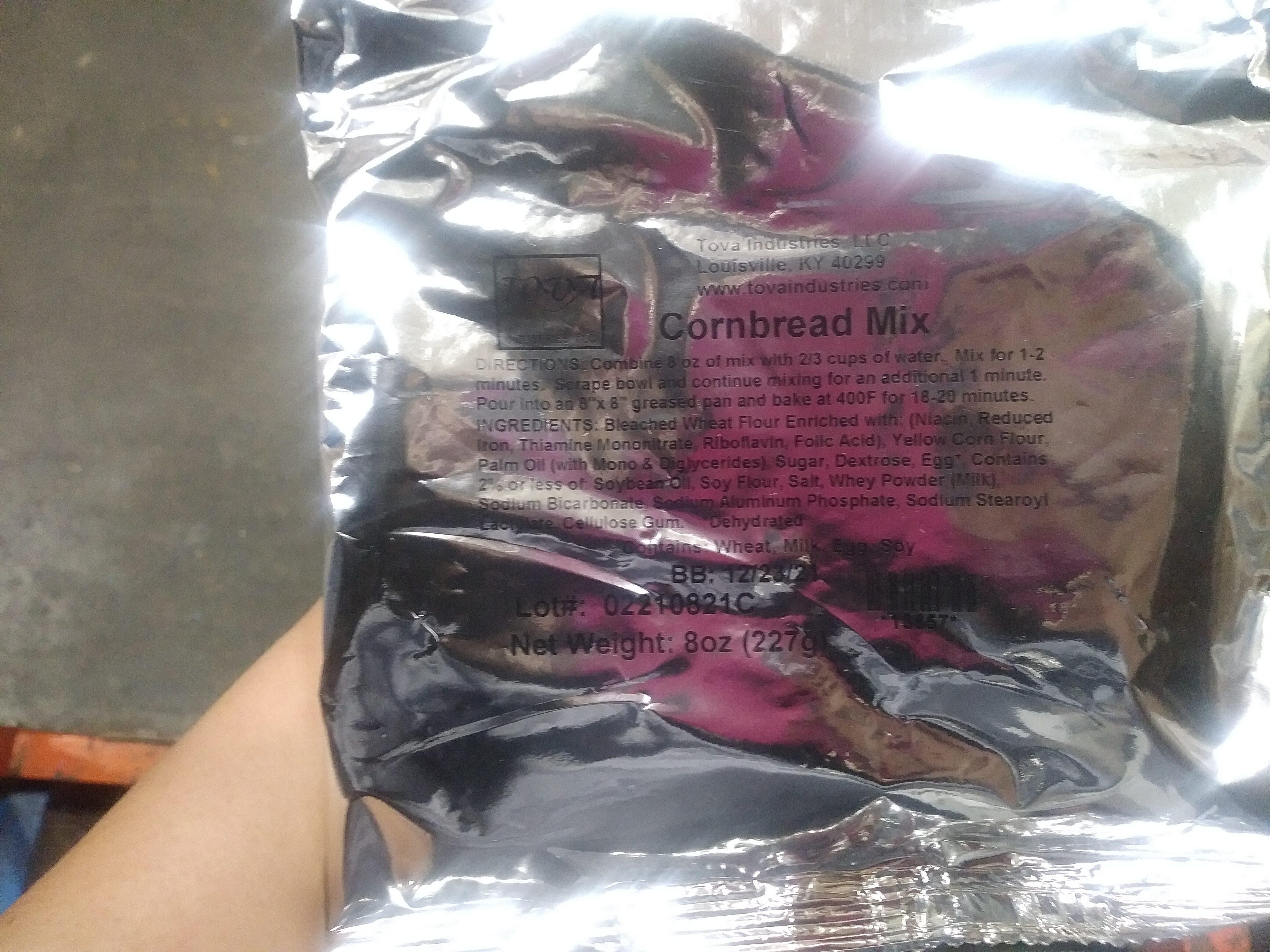 Corn Bread Mix - Product - en