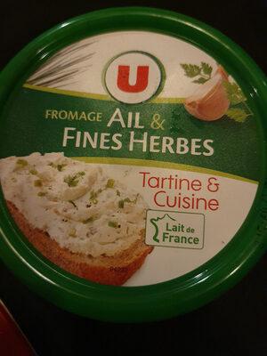 fromage ail & fines herbes - Produit - fr