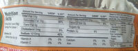 Yakisoba savory beef flavor with real vegetables - Nutrition facts