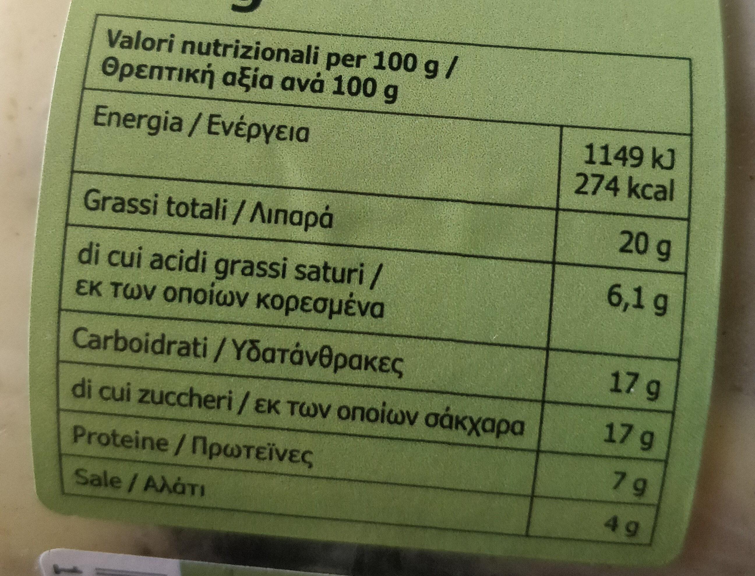 Sill senap - Voedingswaarden - it