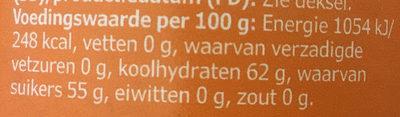 Cloudberry jam, organic - Voedingswaarden - nl