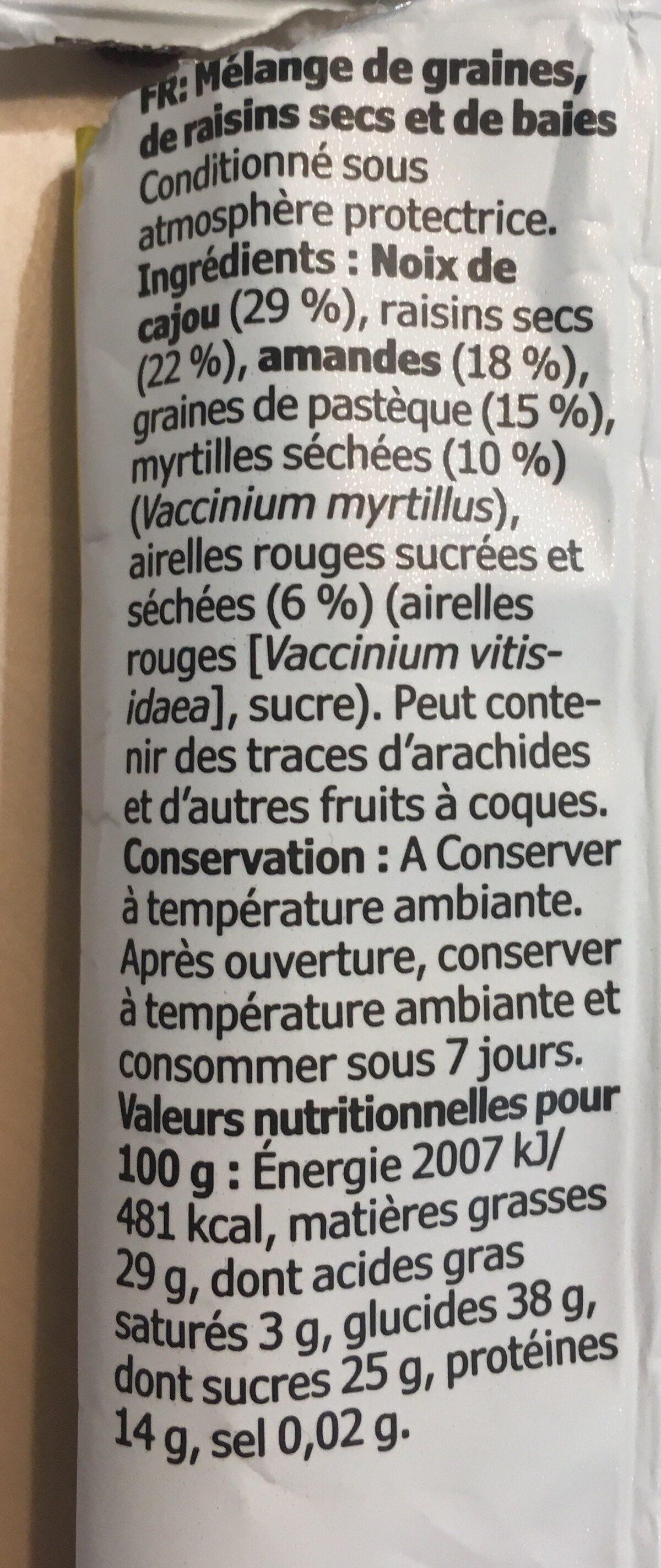 Munsbit - Ingredientes - fr