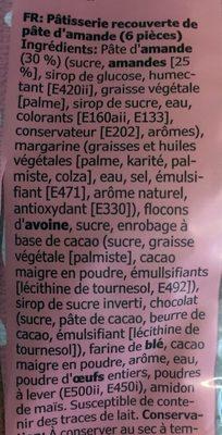 Kafferep - Ingrediënten