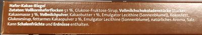 Corny Haferkraft Kakao - Ingredients - de