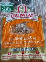 oroweat com sementes  sesamo e linhaça - Produit - pt
