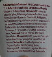 Wrap Falafel mit Humus - Ingrediënten - de