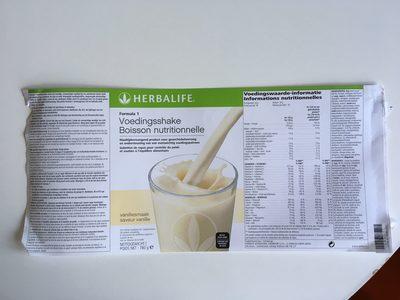 Boisson nutritionnelle vanille creme - Prodotto - fr
