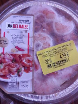 crevettes beurre diabolique - Product - fr