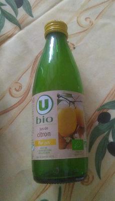 Jus de Citron pur jus bio - Prodotto - fr