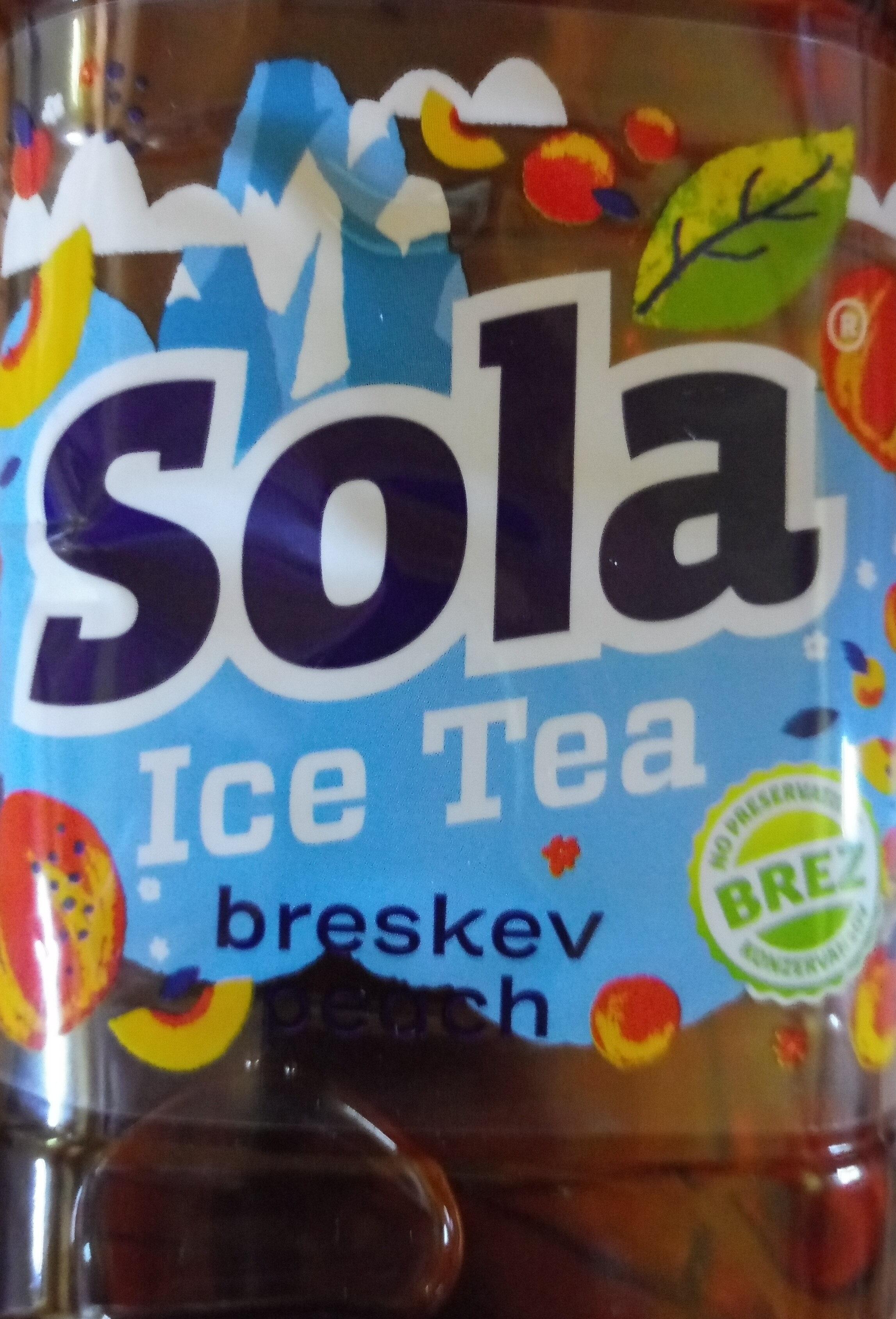 Sola Ice Tea breskev peach - Product