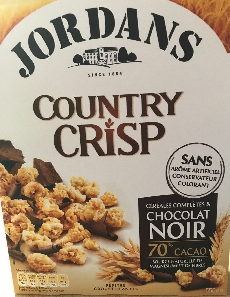 Country crisp chocolat noir - Product