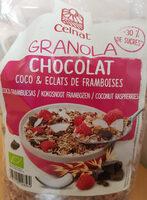 Granola chocolat coco et éclats de frambroise - Produit - fr