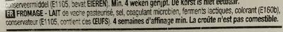 Gouda Jeune - Ingredients - fr