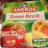 andros pomme abricot - Produit