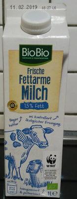 Frische fettarme Milch - Produkt