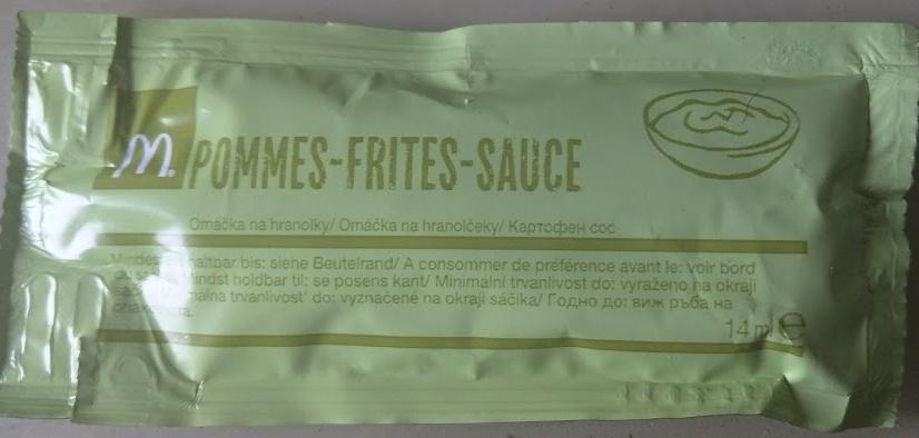 Pommes Frites Sauce - Produit