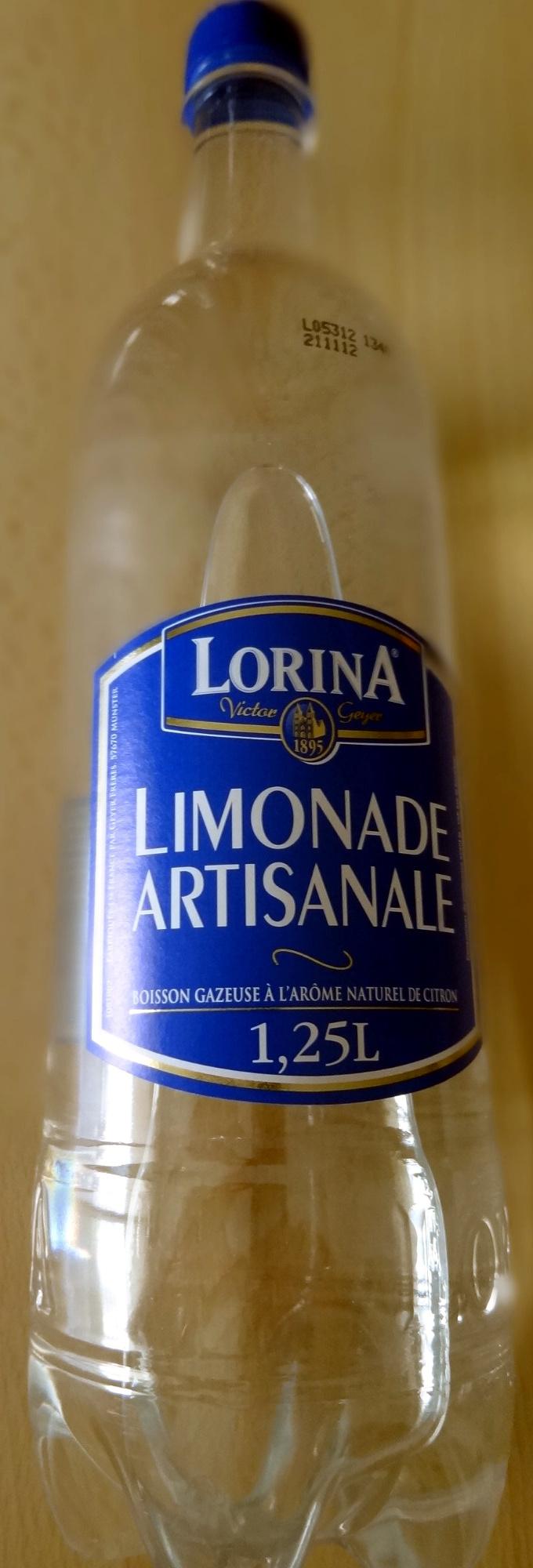 Limonade artisanale - Product - fr