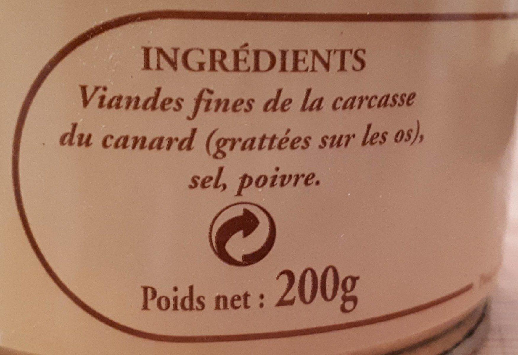 P'tit beurre lait praliné noisette chocolat - Ingredients - fr