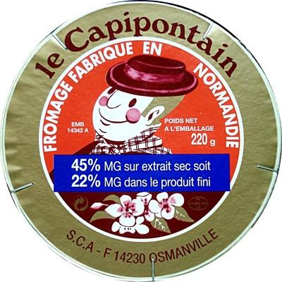 Le Capipontain (22% MG) - Produit