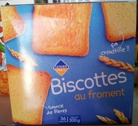 Biscottes au froment - Product