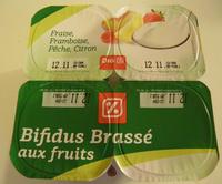 Bifidus brassé aux fruits - Produit - fr