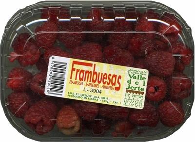 "Frambuesas ""Valle del Jerte"" - Producto"