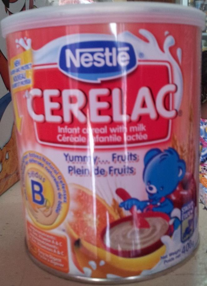 CERELAC, Céréale infantile lactée - Product - fr