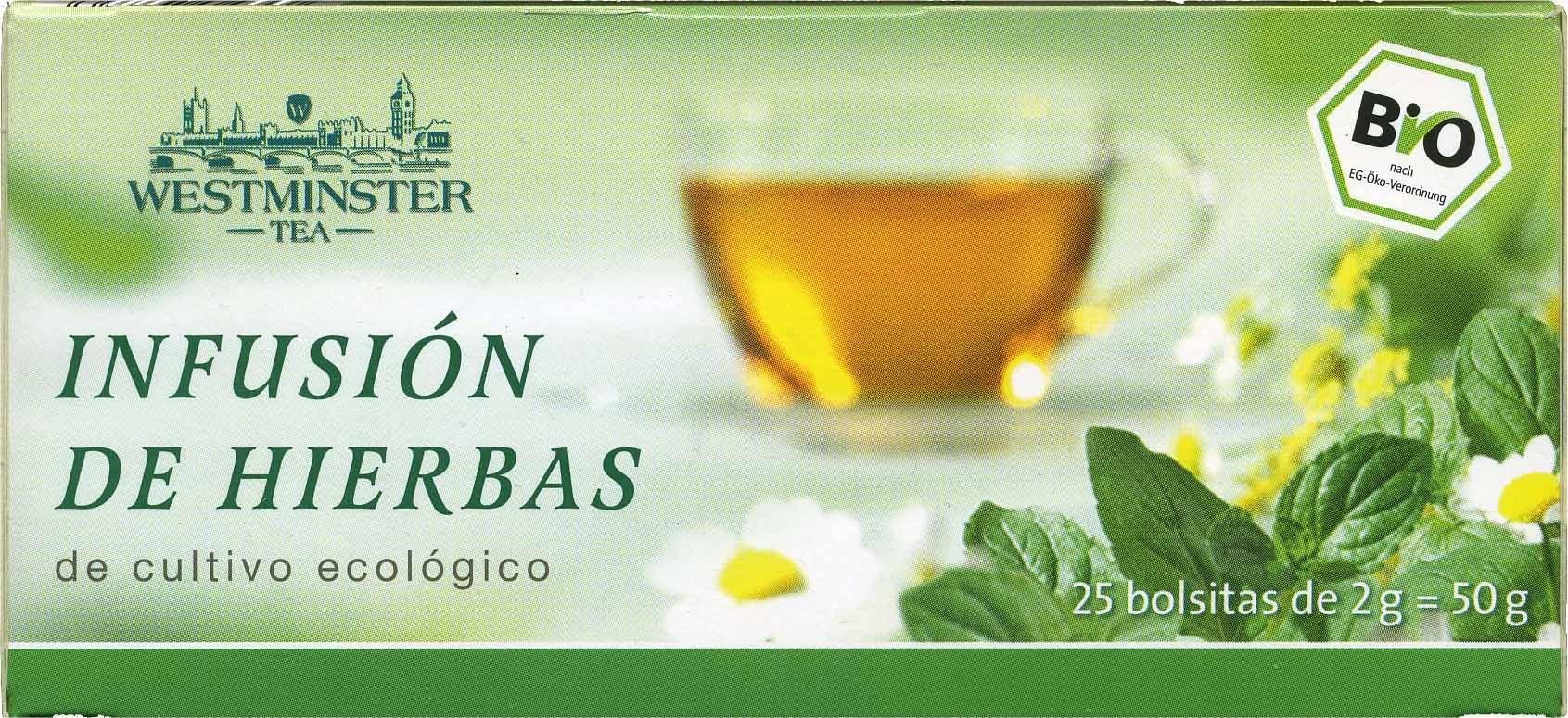 Infusión de hierbas en bolsitas - Produit